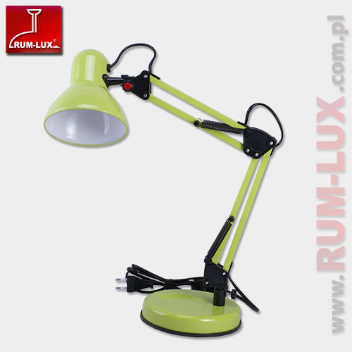 Lampka biurkowa Omega jasnozielona RF892